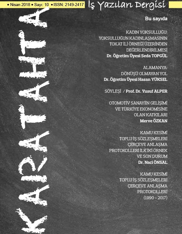 Karatahta İş Yazıları Dergisi 10. Sayı