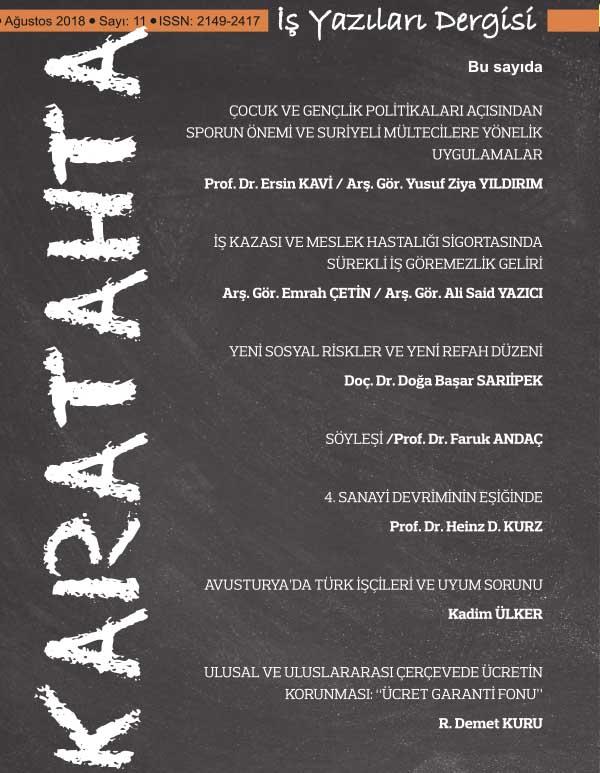 Karatahta İş Yazıları Dergisi 11. Sayı